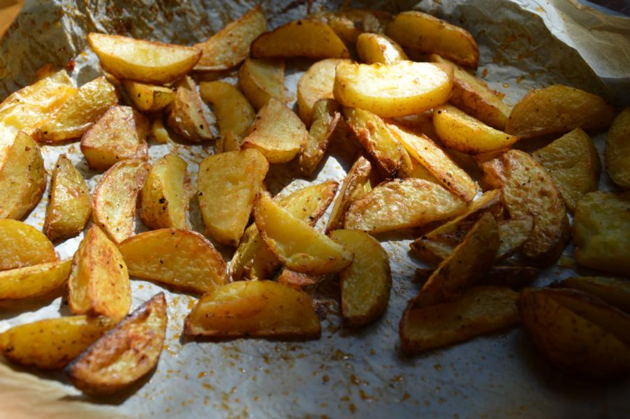 "Ofenkartoffeln – unsere ""Pommes"""