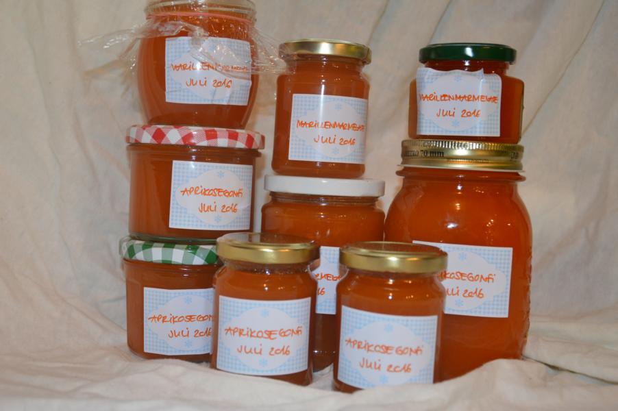 Marillen (Aprikosen) Marmelade