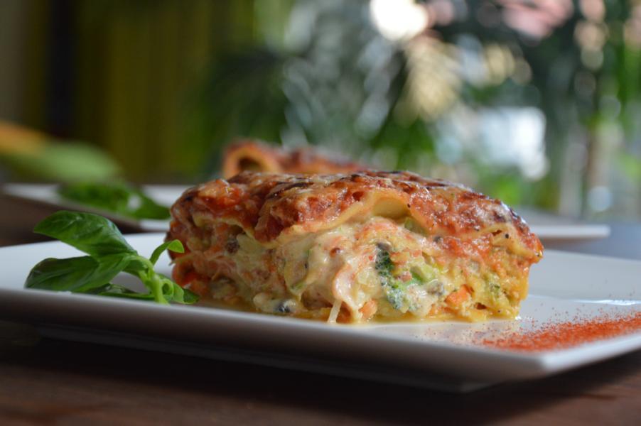 Gemüselasagne mit Ricotta
